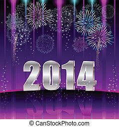 новый, счастливый, 2014, год