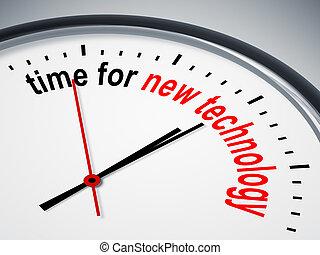 новый, технологии, время