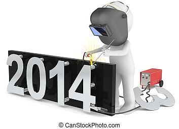 новый, 2014., год