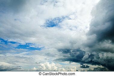 облако, задний план
