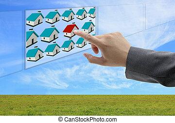 обнаружение, имущество, онлайн