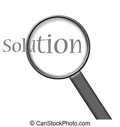 обнаружение, solution