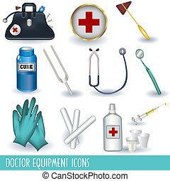 оборудование, врач, icons