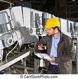 оборудование, промышленные, проверить
