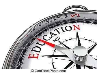 образование, компас