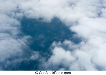 образ, облако, пятно