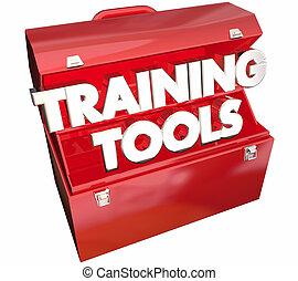 обучение, иллюстрация, курс, learning, ящик для инструментов, образование, инструменты, 3d
