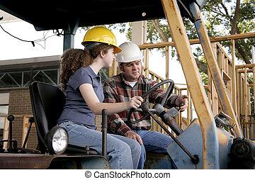 обучение, строительство