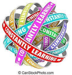 обучение, constantly, рост, learning, постоянный, образование