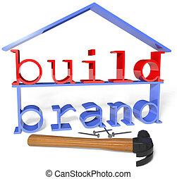 объявление, бизнес, марка, строить, продвижение, инструменты
