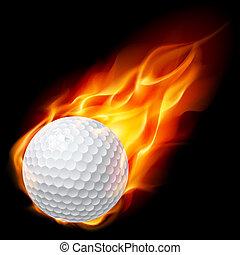 огненный шар, гольф