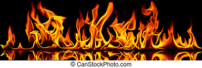 огонь, flames.