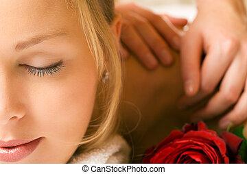 оздоровительный, массаж