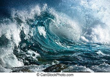 океан, волна