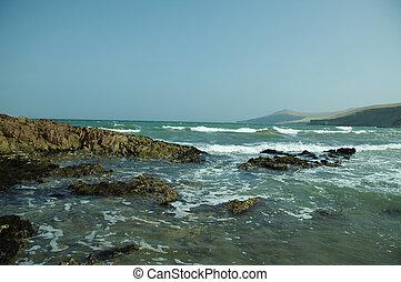 океан, тихий океан, берег