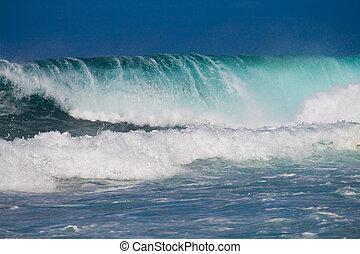 океан, waves