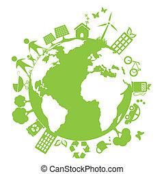 окружающая среда, зеленый, чистый