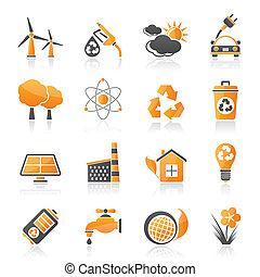 окружающая среда, экология, icons