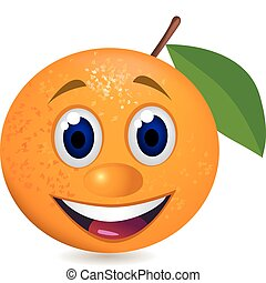 оранжевый, мультфильм