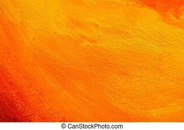 оранжевый, текстура, окрашенный