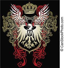 орел, геральдический, герб