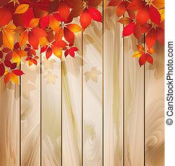 осень, leaves, дерево, задний план, текстура