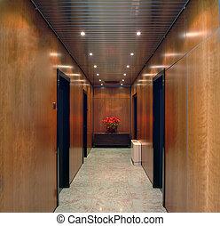 офис, коридор