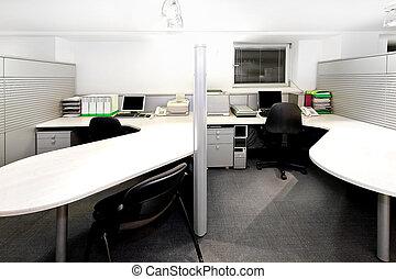 офис, cubicles