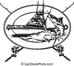 офшор, лодка
