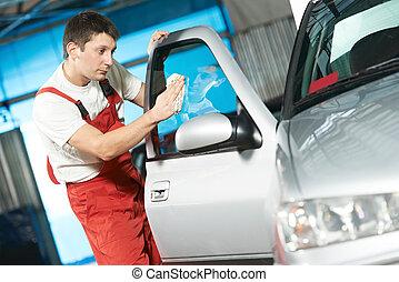 очиститель, авто, мойка, оказание услуг, автомобиль