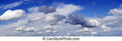 панорама, облако
