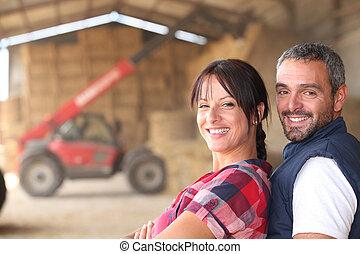 пара, фермер