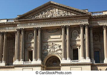 париж, восток, портал, жалюзийное отверстие