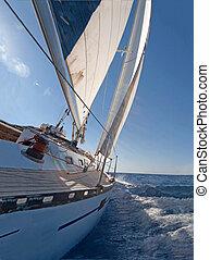 парусный спорт, лодка