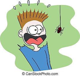 паук, страшно