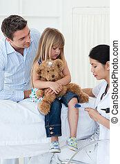 пациент, врач, examining