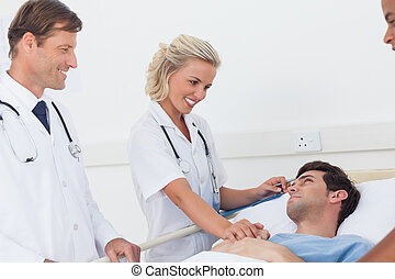 пациент, говорящий, doctors