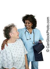 пациент, забота, дружелюбный