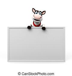 персонаж, корова