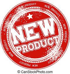 печать, новый, продукт, вектор, гранж