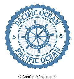печать, тихий океан