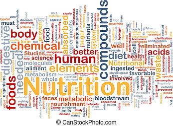 питание, концепция, здоровье, задний план