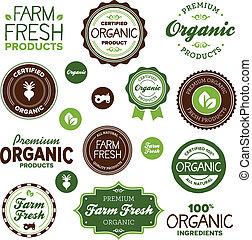 питание, labels, органический