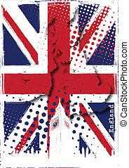 плакат, англия