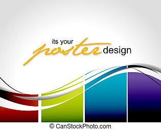 плакат, дизайн