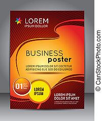 плакат, презентация, бизнес