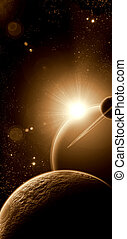 планета, восход