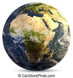 планета, земля, земной шар
