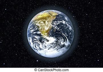 планета, земля, пространство