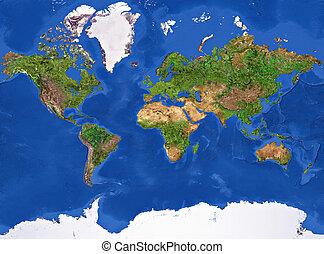 планета, земля, текстура